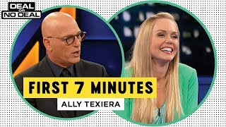 Full Opening - Ally Texeira Freezes Out The Banker | Deal Or No Deal