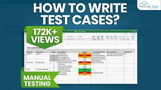 live example of Test Cases  | How to Write Test Cases in Manual Testing | Manual Testing