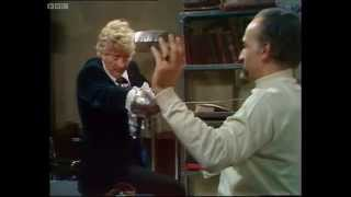 Swordfight with the Master (HQ) - Doctor Who - The Sea Devils - BBC