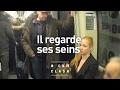 Vidéo buzz : un homme harcèle une femme dans le métro