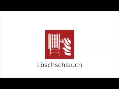 Brandschutzzeichen DIN EN ISO 7010 - Sicherheitszeichen Brandschutz