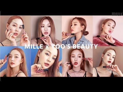 Mille X Yoo's Beauty (Satin Matte Liquid Lip)