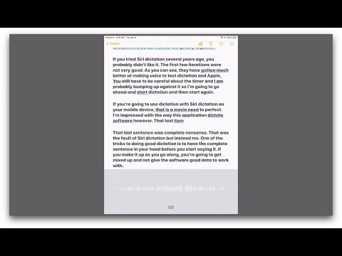 A Survey of Voice-to-Text Options on the Mac, iPad, and iPhone