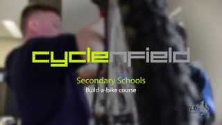 preview picture of video 'Cycle Enfield Secondary School Build a Bike Course'