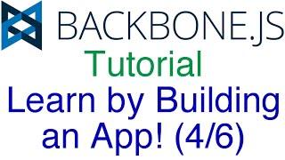 Express, MongoDB, Mongoose, RESTful API (Learn Backbone.js Tutorial by Building an App (4/6)!)