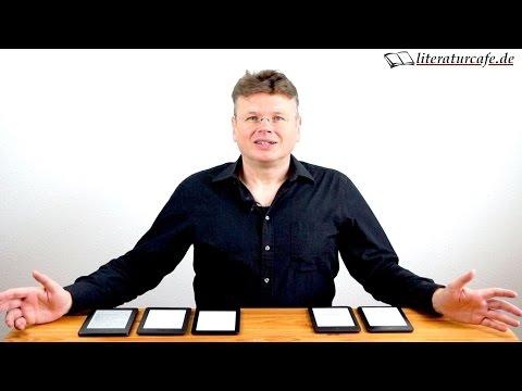 Kindle vs. Tolino: Welchen E-Reader kaufen oder verschenken? 2015/2016 Edition