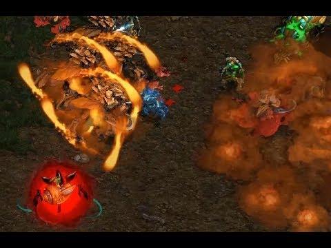 EPIC - Jaedong (Z) v PerfectMan (P) on Aztec - StarCraft  - Brood War REMASTERED 2019