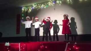 Born unto us this day-Action Song-Grade2 -Family Night-Dec 2014