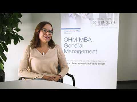 MBA program at OHM Professional School