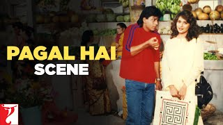 Pagal Hai | Scene | Dil To Pagal Hai | Shah Rukh Khan