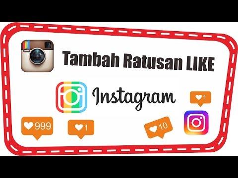 Video Trik Mendapat Ratusan Like di Instagram Asli Orang Gratis