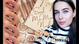 Помады от KYLIE / Send Me More Nudes / Обзор, АНАЛОГИ, Свотчи / KYLIE VACATION COLLECTION