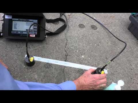 Pundit PL-200PE Ultrasonic Pulse Velocity Tester