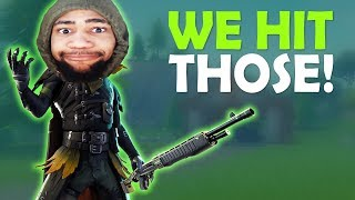 WE HIT THOSE! | THAT'S SUS! | DAEQUAN VS CAMPERS | HIGH KILL FUNNY GAME - (Fortnite Battle Royale)