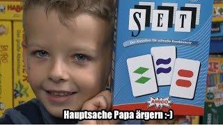 SET (Amigo Spiele) - ab 6 Jahre - Hauptsache den Papa ärgern!