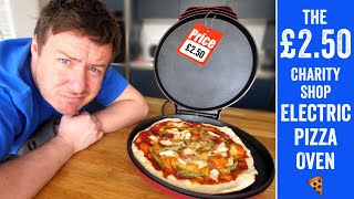 The £2.50 Charity shop pizza oven!