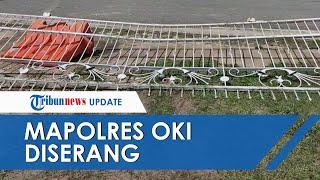Penyerang Mapolres Ogan Komering Ilir Tewas seusai Kehabisan Darah saat Dilumpuhkan
