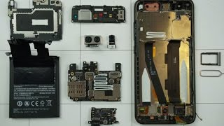 """Xiaomi Mi6 - разборка, смотрим что """"под капотом"""""""