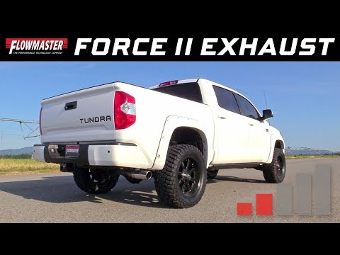 2009-20 Toyota Tundra 4,6L 5.7L - Force II Cat-back Exhaust System 817486