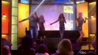 "The Cheetah Girls - The Partys Just Begun Live ""Good Morning Amarica"""