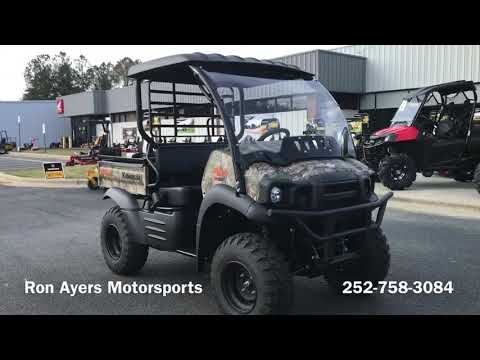 2021 Kawasaki Mule SX 4X4 XC Camo FI in Greenville, North Carolina - Video 1