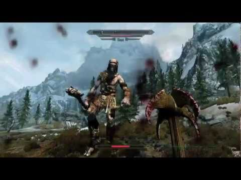 This Skyrim Video Has Horrible Voice Acting, Bad Ass Dragons