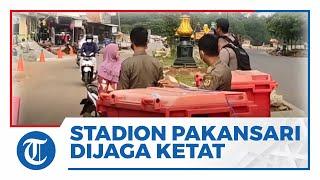 Kompetisi Liga 1 Masuki Pekan Keenam, Laga di Stadion Pakansari Dijaga Ketat Personel Kepolisian