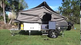 Opening Camper trailer new wild boar camper 2015 razorback forward fold camper