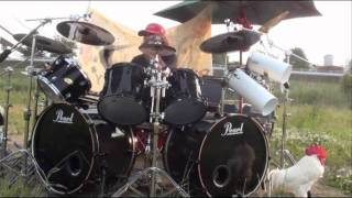 DRAGON FORCE A Fream for Freedom Drum Cover