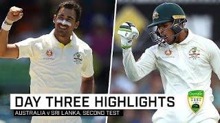 Starc, Khawaja put Australia in control | Second Domain Test