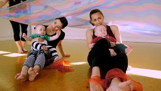 Youtube thumbnail for Jenny-May and Stacey take the twins to a Baby Dance Class
