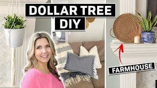 Dollar Tree DIY ⚫ Farmhouse Home Decor on a Budget 2020