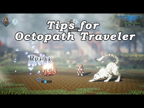 Octopath Traveler Tips for New Players