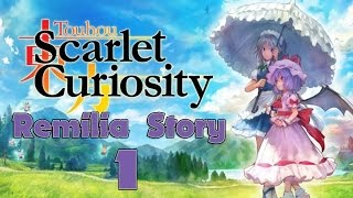 Remilia Scarlet  - (Touhou Project) - Touhou Scarlet Curiosity Walkthrough Gameplay Part 01 - English - (PS4) Remilia Story - Misty Lake