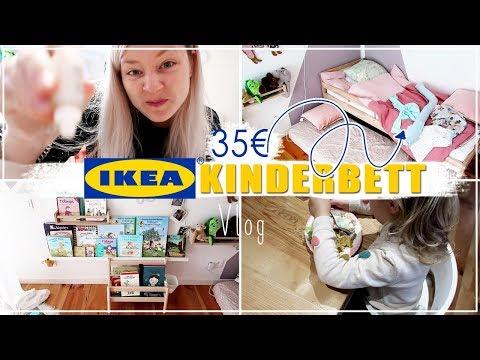 IKEA KINDERBETT | Mittagessen und aufräumen - der ganz normale Mamawahnsinn | TINYME CARLA