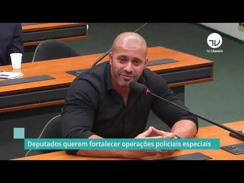 Deputados querem fortalecer operações policiais especiais - 13/10/20