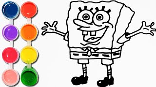 How To Draw Color Spongebob Squarepants