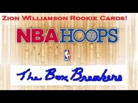 2019-20 NBA HOOPS HOBBY BOX Opening Zion Williamson RC Rookie Card RJ Barrett JA Morant Cards