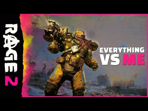 RAGE 2: Everything vs. Me Official Trailer thumbnail