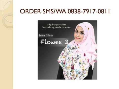 Video Pashmina Instan Two Faces Flowee By Flow