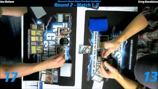 preview picture of video 'MTG Magic PTQ Standard Catskill, NY Round 2 Game 2 122014'
