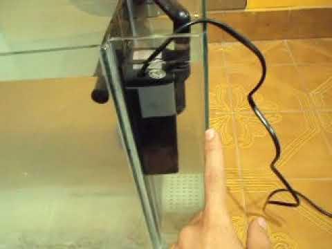 filtro externo para acuario hecho en casa