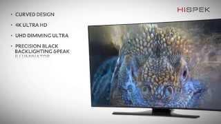 preview picture of video 'Samsung UE55HU7200, UE65HU7200 - HU7200 Series 4K Ultra HD TV Product Video By Hispek'