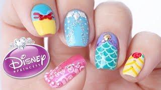 Disney Princess Nail Art Designs!