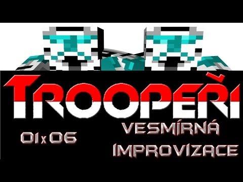Minecraft Men - Troopeři 01x06 - Vesmírná Improvizace