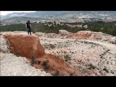 Descenso en monte los picarios Yecla