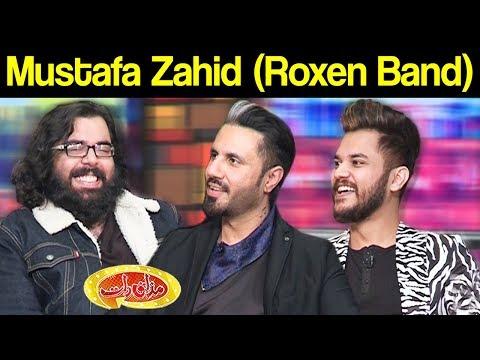 Mustafa Zahid ( Roxen Band ) | Mazaaq Raat 22 January 2019 | مذاق رات | Dunya News