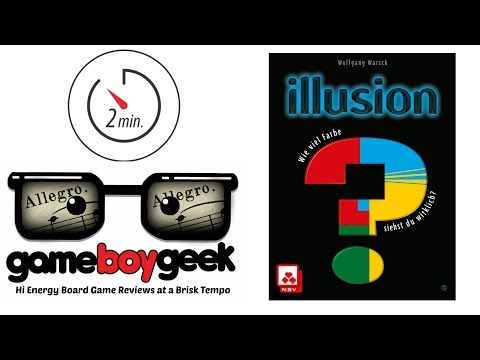 Illusion (Allegro 2-min) Review with the Game Boy Geek