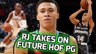 RJ Hampton BATTLES Chris Paul In 2nd NBA Game! Future Star Vs Current Star 😱