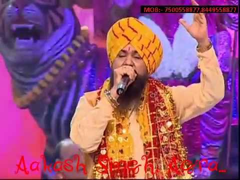 प्यारा सजा है तेरा द्वार भवानी Pyara sajaa है तेरा विषयी ~ # LakhbirSinghLakhaLive Navratre विशेष